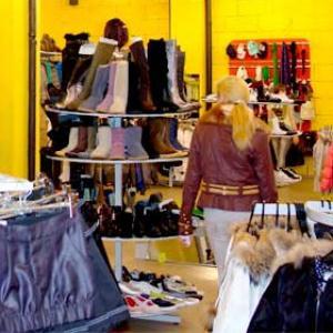 Магазины одежды и обуви Ольховатки